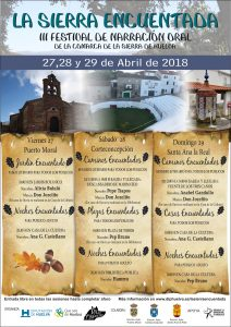 CARTEL LA SIERRA ENCUENTADA 2018